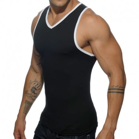 Addicted Basic Colors Tank Top - Black
