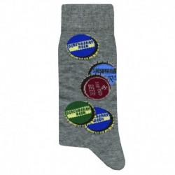 Chaussettes Beer - Gris