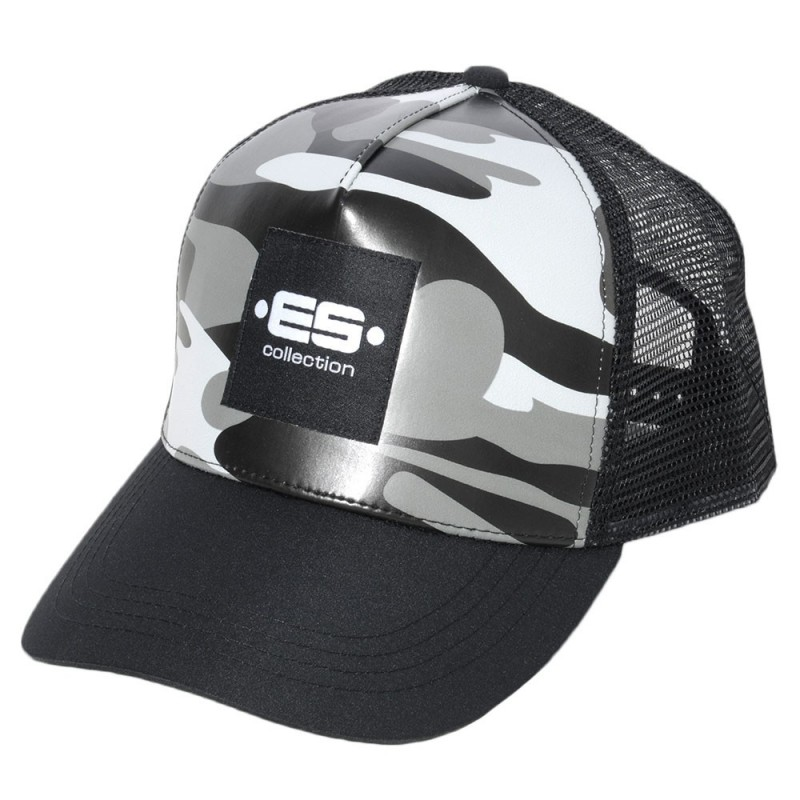 Casquette Camouflage Grise