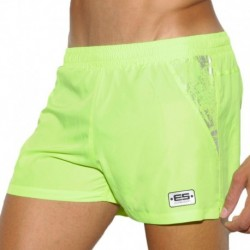 Tech Metallic Short - Green