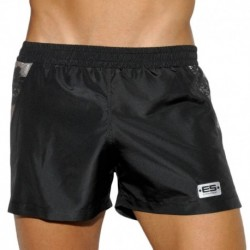 ES Collection Tech Metallic Short - Black