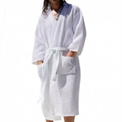 Oasis Bathrobe - White