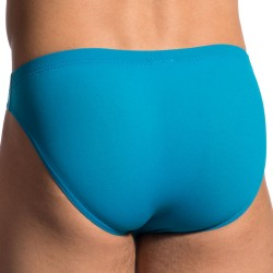 RED 0965 Brazil Brief - Blue Surf