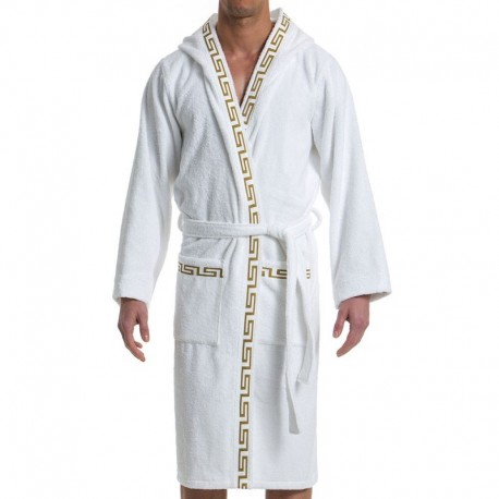 Modus Vivendi Meander Bathrobe - White