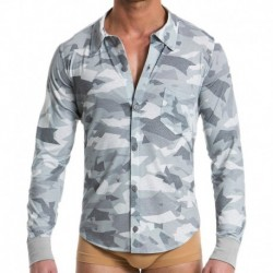 Chemise Desert Camouflage Gris