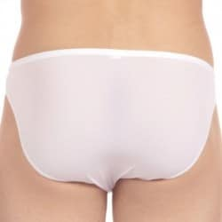 HOM Temptation Plume Brief - White