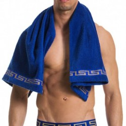 Meander Towel - Royal