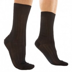 DIM 2-Pack Lisle Socks - Black