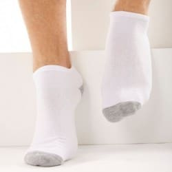 3-Pack Sports Bobby Socks - White