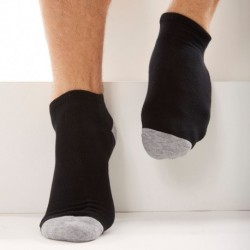 3-Pack Sports Bobby Socks - Black