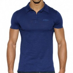 Shantung Polo - Navy
