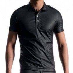 M104 Polo Shirt - Black
