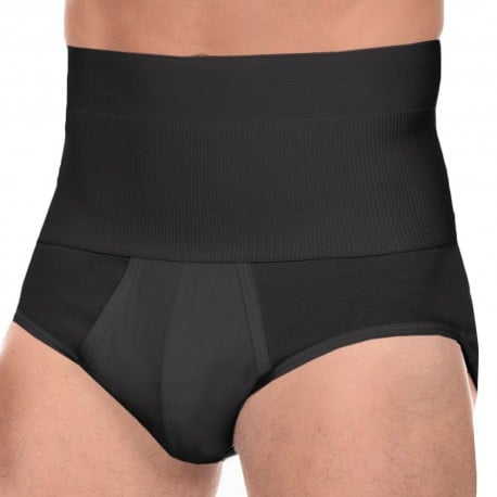 Slimming Contour Pouch Brief - Black