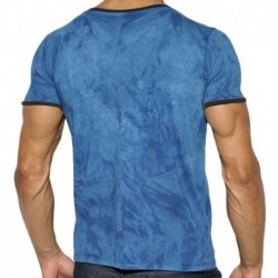 ES Collection T-Shirt 18 Print Dye Marine