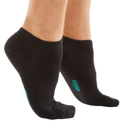 3-Pack Invisible Socks - Black