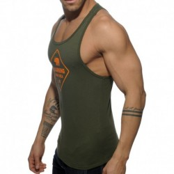 Bear Area Tank Top - Khaki