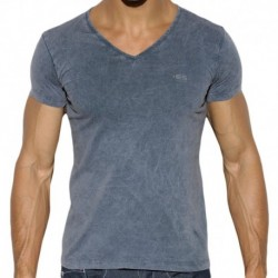 T-Shirt Basic Dye Marine