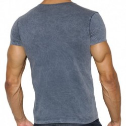 Basic Dye T-Shirt - Navy