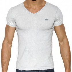 ES Collection Basic Dye T-Shirt - Silver