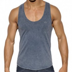 Basic Dye Tank Top - Navy