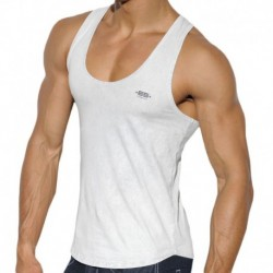 ES Collection Basic Dye Tank Top - Silver