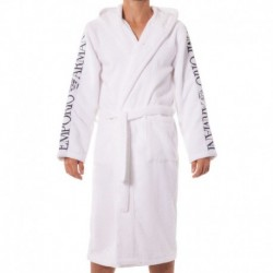 Sponge Bathrobe - White