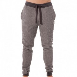 Soft Melange Terry Pants - Grey Melange