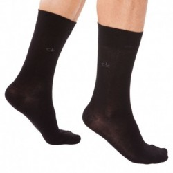 2-Pack Square Neats Socks - Black- Squarres Print