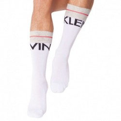 Big Logo Socks - White