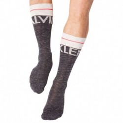 Big Logo Socks - Dark Grey