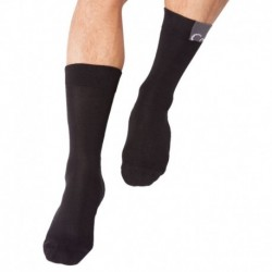 Logo Patch Socks - Black