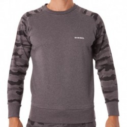 Sweat-Shirt Camouflage Gris