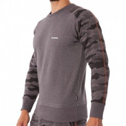 Camouflage Sweat-Shirt - Grey