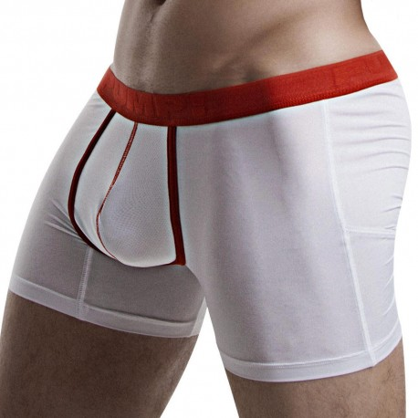 Boxer Cooldown Blanc - Rouge