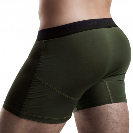 Cooldown Boxer - Military Green