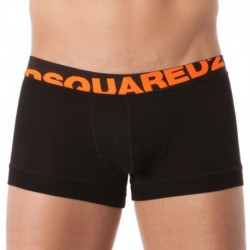 154 Modal Boxer - Black - Neon Orange