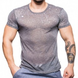 Splatter T-Shirt - Grey