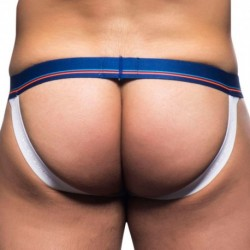 California Collection Stripe Jock - Blue - White