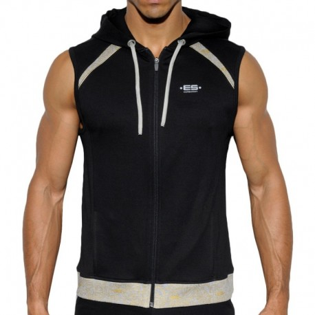 ES Collection Veste Hoody Electric Noire