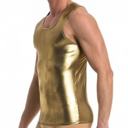Dusk 2 Dawn Tank Top - Gold