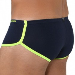 Mini Boxer - Navy - Yellow
