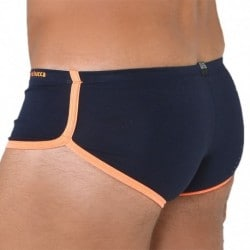 Mini Boxer - Navy - Orange