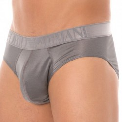 Metallic Shades Brief - Silver