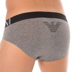 Hologram Eagle Brief - Dark Grey