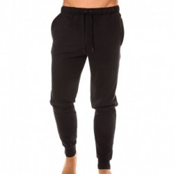 Pantalon Jogger Embroidered Logo Noir
