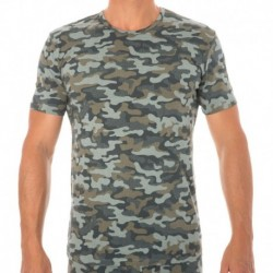 T-Shirt Modern Cotton Stretch Camouflage