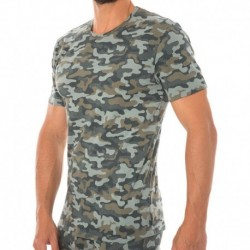 Modern Cotton Stretch T-Shirt - Camouflage