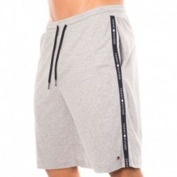 Cotton Brushed Jersey Short - Grey