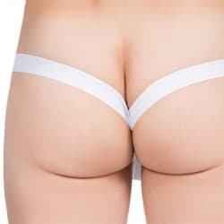 New Look Thong - White
