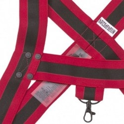 Jorde Harness - Black - Red